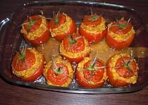 Plněná rajčata (bez masa)