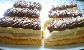 Řezy s vanilkovým krémem