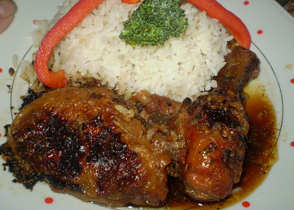 Kuře pečené nejen na jalovci
