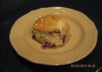 Anglické bochánky k čaji (scones)