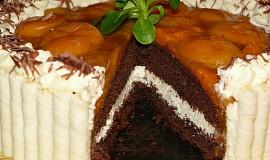 Meruňkový dortík