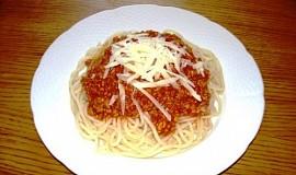 Rychlá omáčka z mletého masa na špagety