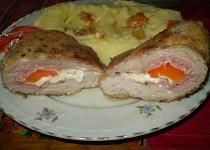 Vepřovo - sýrové řízky se steakovým kořením