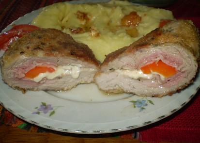 Vepřovo-sýrové řízky se Steikovým kořením