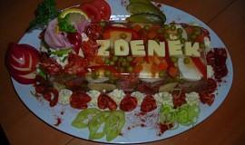 Aspikový dort pro kamaráda