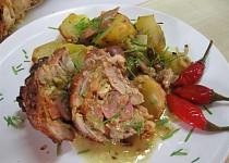 Kuřecí roláda s nádivkou z vepřovky