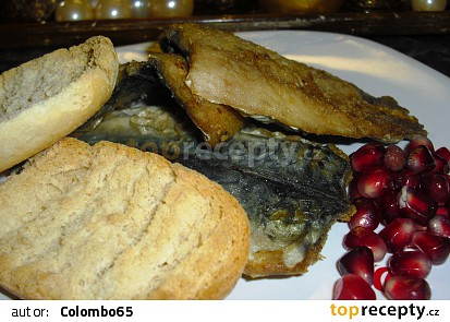Restovaná makrelová filátka na přepuštěném másle