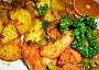 Kuřecí nudle Tandoori masala s hlívou a pórkem