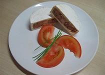 Plněný hermelín s domácí tlačenkou