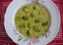 Krémová polévka z růžičkové kapusty