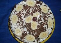 Jablkový dort s ořechy a čokoládou