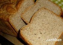 70% Celozrnný chleba z domácí pekárny