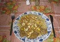 Vepřová krkovice na zelenině a hořčici