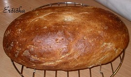 Chleba ze syrovátky s otrubami a slunečnicí