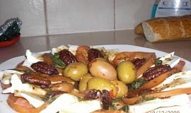 Salat Mozarella s rajcaty a bagetou