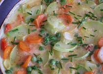 Omeleta se zeleninou