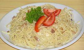 Špagety s brynzou
