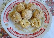 Jablkové knedlíčky