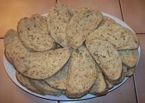 Chlebové knedlíky s cibulí