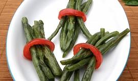 Přílohové fazolky s česnekem