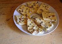 Tvarohový koláč s oříšky(mandlemi)