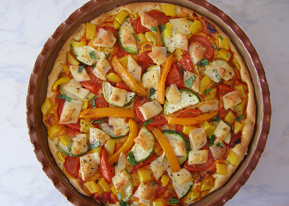 pouze se zeleninou a sýrem pizzanella