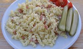 Těstoviny s vejcem