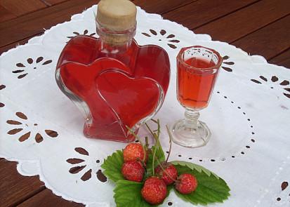 Jahodový likér