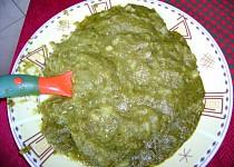Dětský špenát s brambory a s hovězím masem