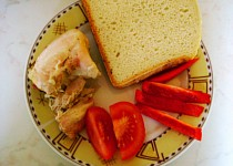 Kuře v česneku