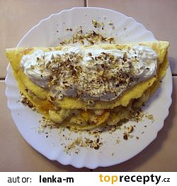 Omeleta s ovocem