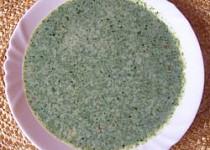 Špenátová polévka s mlékem