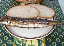 Makrely s libečkem na grilu