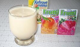 Kefírové mléko s ovocnou příchutí - dia
