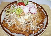 Kuřecí řezanka s bramboráky