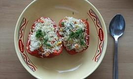 Papriky plněné rýží