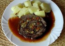 Plněné hovězí maso