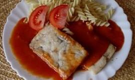 Rybí filé v rajčatové omáčce