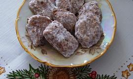 Vánoční cukroví - ořechové tlapky