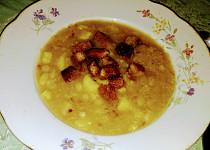 Křampes - staročeská zelná polévka z Vrchoviny