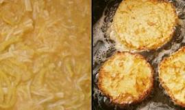 Sýrové placičky s pórkem
