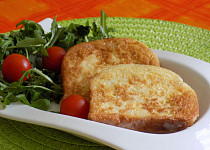 Jednoduchý toast obalený ve vajíčku