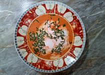 Kokosová polévka z červené řepy