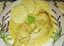 Kuře s houbami po chalupářsku