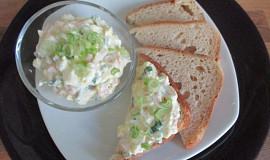 Pomazánka z Cream cheese pomazánka a norským lososem