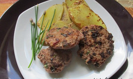 Dietní bylinkové karbanátky