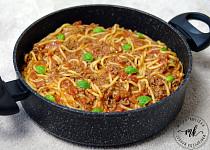 Špagety z jednoho hrnce