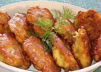 Hořčično-koprové kuřecí placičky