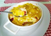 Rýžový nákyp s balkánským sýrem