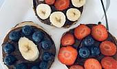 Americké lívance s ovocem